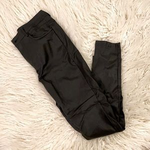 SHEIN Faux Leather Skinny Pants